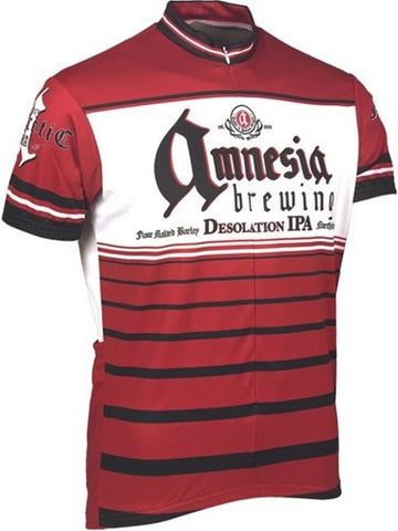 Amnesia Brewing Company Men's Short Sleeve Cycling Jersey