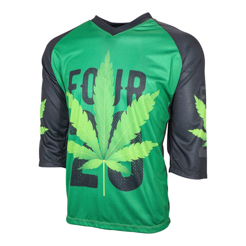 420 Men's MTB Cycling Jersey