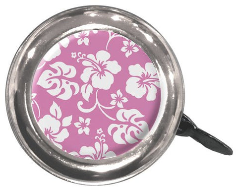 Clean Motion Pink Flowers Bicycle Bell - Triathlete Store