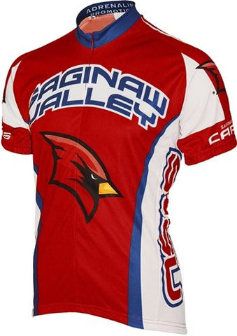 NCAA Men's Adrenaline Promotions Saginaw Valley State Cardinals Road Cycling Jersey