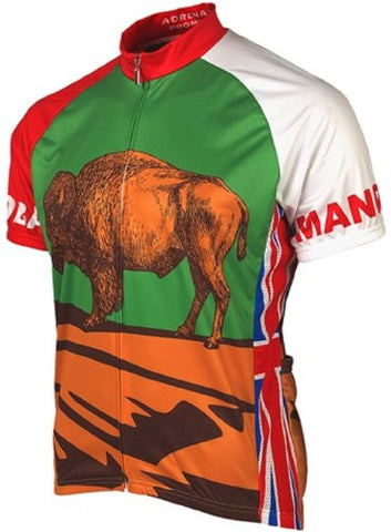 Adrenaline Promotions Canadian Provinces Manitoba Cycling Jersey
