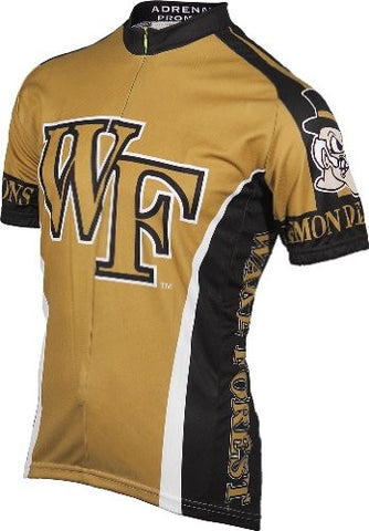 NCAA Men's Adrenaline Promotions Wake Forest Cycling Jersey