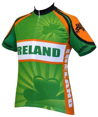 World Jerseys Men's Ireland Cycling Jersey