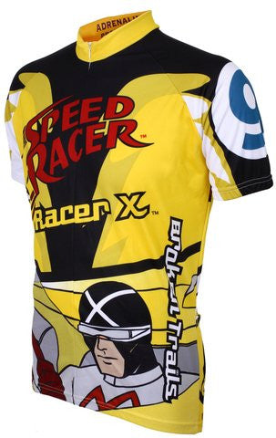"Adrenaline Promotions Speed Racer ""Racer X"" Cycling Jersey"
