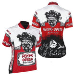 Peking Opera Women's Short Sleeve Cycling Jersey