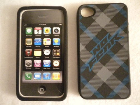 No Fear Protective Case for IPhone4 - Skulls - Hard Rubber