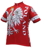 World Jerseys Men's Poland Cycling Jersey