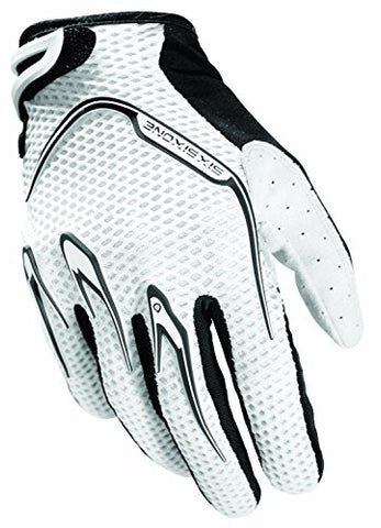 SixSixOne Recon Gloves, White (Medium)