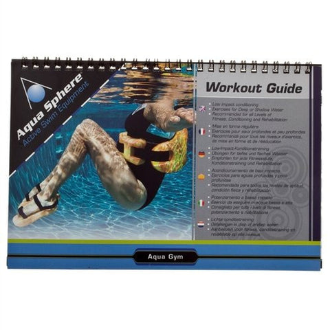 Aqua Sphere Waterproof Workout Guide [Spiral-Bound]