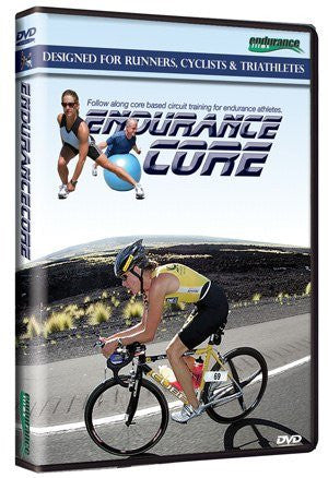 Endurance Core: Desigined for Runners, Cyclists & Triathletes DVD 120 minutes