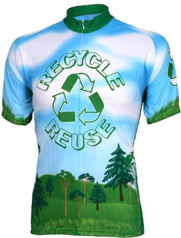 Recycle Reuse Men's Cycling Jersey