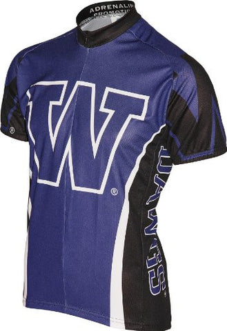 NCAA Men's Adrenaline Promotions Washington Huskies Road Cycling Jersey
