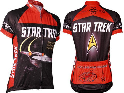 Star Trek Women's Short Sleeve Cycling Jersey