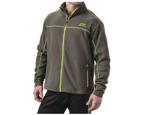 Arctic Cat Men's Aircat Heavyweight Full-Zip Fleece - Gray