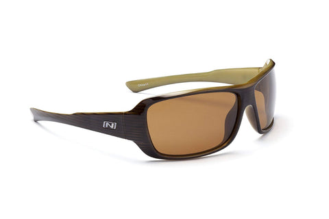 Optic Nerve Solstice Sunglasses, Driftwood, Polarized Brown