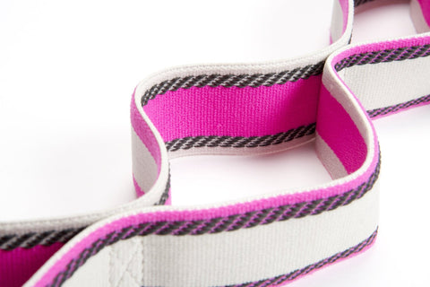 Pro-Tec Athletics Stretch Band with Grip Loop Technology, Pink