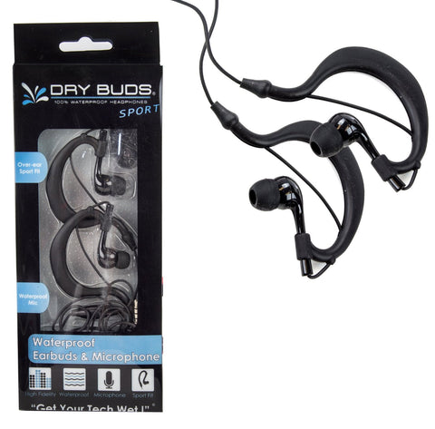 Headphones with Mic DryCASE DryBUDS Sports iPhone / iPod