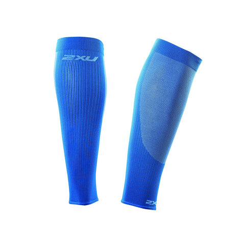 2XU Compression Performance Run Sleeves (Vibrant Blue/Vibrant Blue)