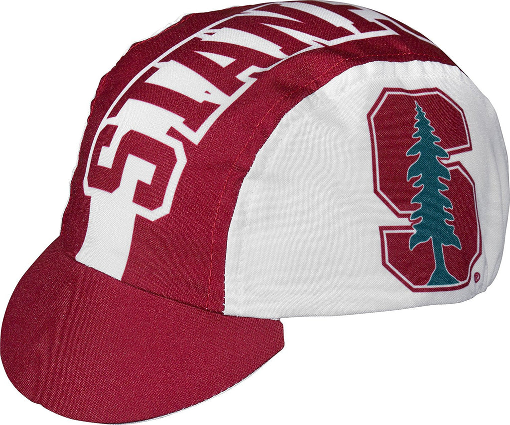 detailed look d498d a58a2 ... sweden ncaa stanford university cycling cap one size red white add63  bc3e6