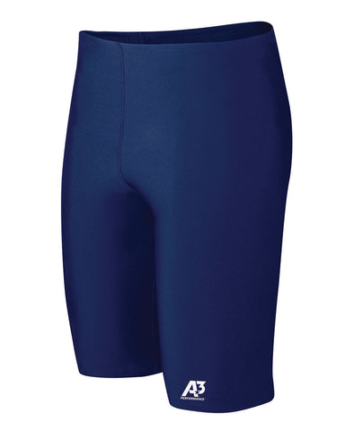 A3 Performance Male Poly Jammer, Navy