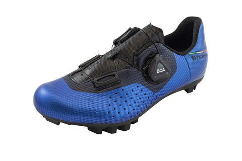 Vittoria ALISE' Kid MTB Cycling Shoes - BLUE/GREY (2021)