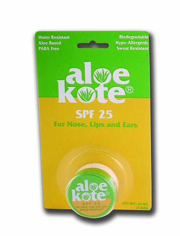 Aloe Up Sun & Skin Care Products Aloe Kote SPF 25