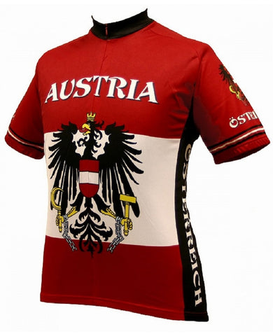 World Jerseys Men's Austria Cycling Jersey