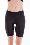 Alii Lifestyle Giada Black Compression Bike Short - 9 Inch