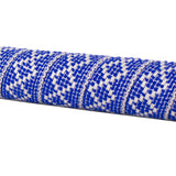 Serfas BT-15 Woven Bar Tape - Checkered Blue