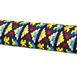 Serfas BT-16 Woven Bar Tape - Orange, Yellow, Red, Black, Blue & Teal