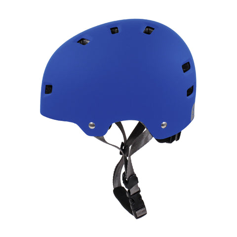HT-100/103 Bucket Kids Helmet (Matte Blue/Grey)