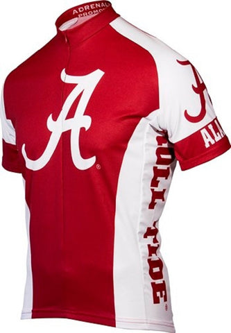 NCAA Men's Adrenaline Promotions Alabama Crimson Tide Road Cycling Jersey