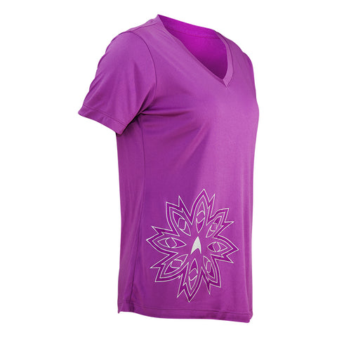 "Brainstorm Gear Women's Star Trek ""Floret"" Tech Shirt"