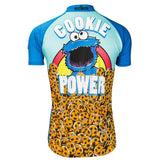 "Sesame Street Men's Cookie Monster ""Freshly Baked"" Cycling Jersey"