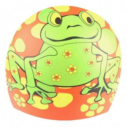 1 Line Sports Frog Power Silicone Swim Cap