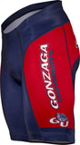 NCAA Men's Adrenaline Promotions Gonzaga Bulldogs Cycling Shorts
