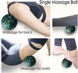 EPP Yoga Massage Roller & Fitness ball Foam Roller Set for Back Pain Self-Myofascial Treatment