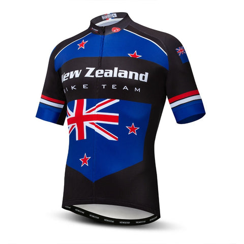 New Zealand Men's Short Sleeved Cycling Jersey