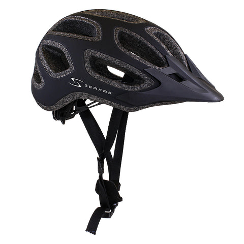 HT-600/604 Incline Enduro Helmet (Matte Black)