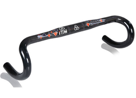 ITM Triango Carbon Wrapped Road Bike Handlebar