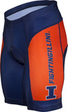NCAA Men's Adrenaline Promotions Illinois Fighting Illini Cycling Shorts