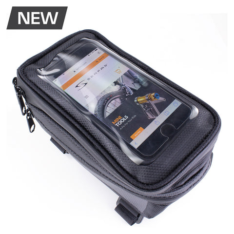 Serfas Waterproof Cell Phone Top Tube Bag