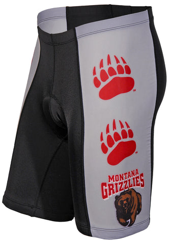 NCAA Men's Adrenaline Promotions Montana Grizzlies Cycling Shorts