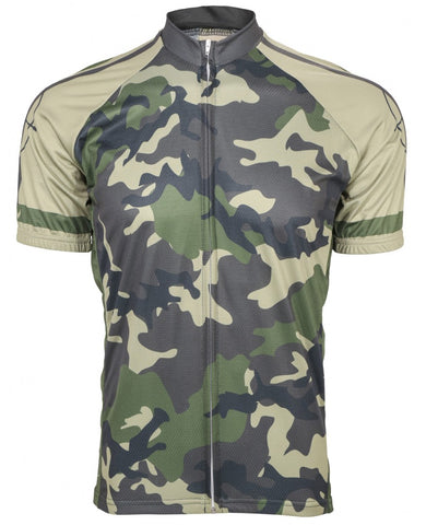 Outlaw Camo Men's Cycling Jersey