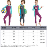 One-Piece Kid's Warm Diving Suit