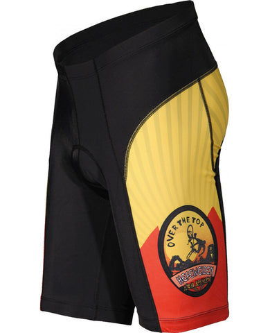 Moab Brewery Over the Top HEFEWEIZEN Cycling Shorts