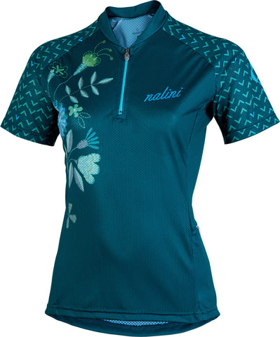 ROCKY 2.0 MTB Women's Short Sleeve Cycling Jersey (Green)