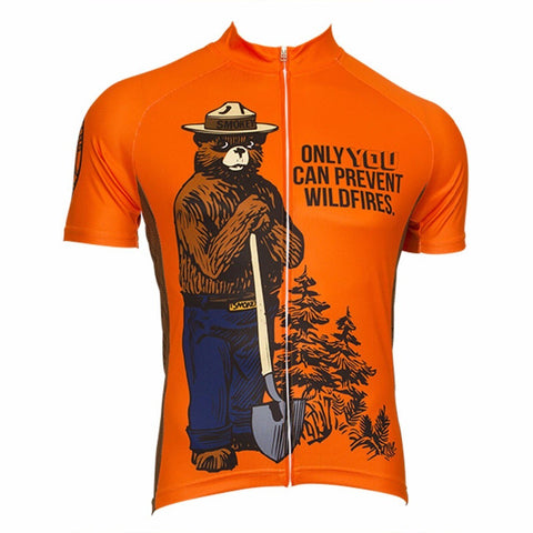 Smokey Bear Men's Cycling Jersey