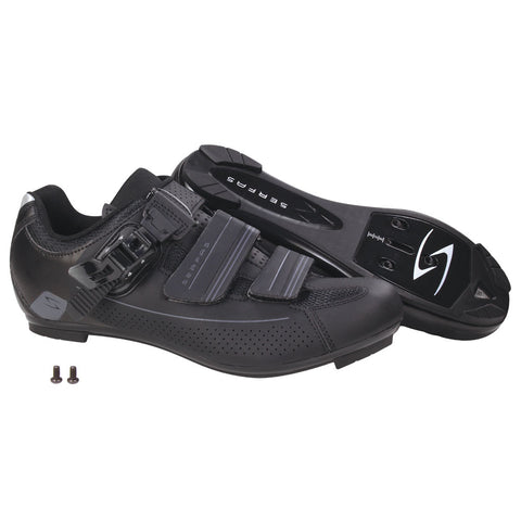 Serfas Men's Road Bike Leadout Buckle Cycling Shoes (SMR-501B & SMR-501W)
