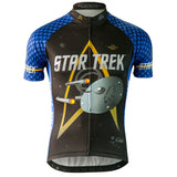 "Brainstorm Gear Men's Star Trek ""Science"" - Blue - Cycling Jersey"